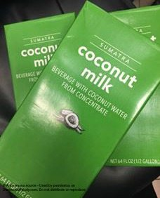 2 - 1 - coconut milk