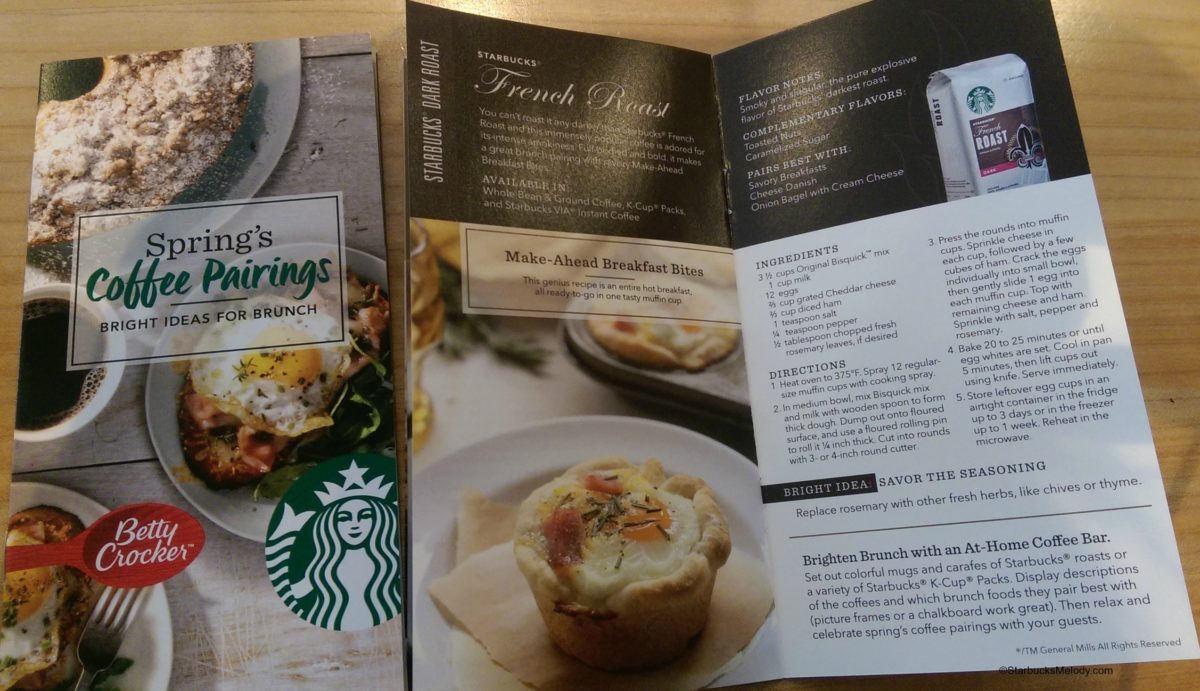 Starbucks coupon in store