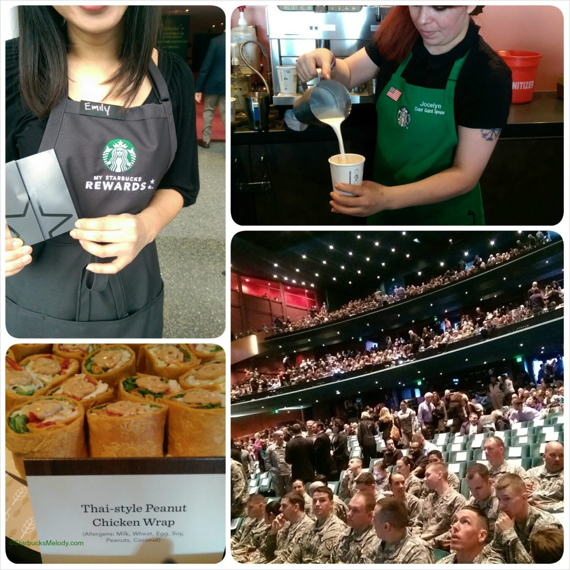 Starbucks Annual Meeting: New Food; Common; Mellody Hobson and More.