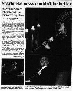 24 Feb 1999 - Starbucks News Couldnt be better - Kenny G
