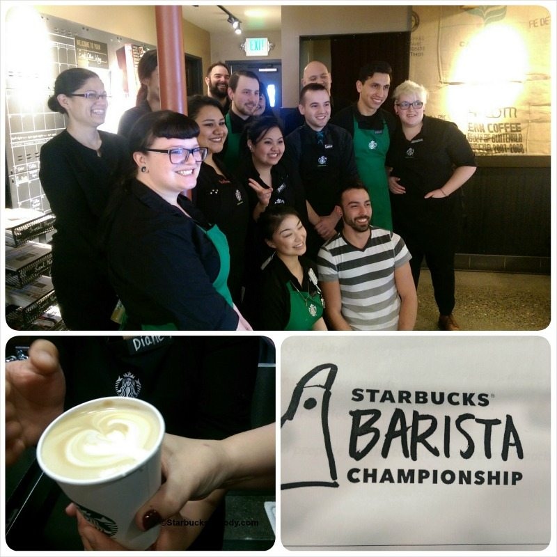 The Starbucks Barista Championship.
