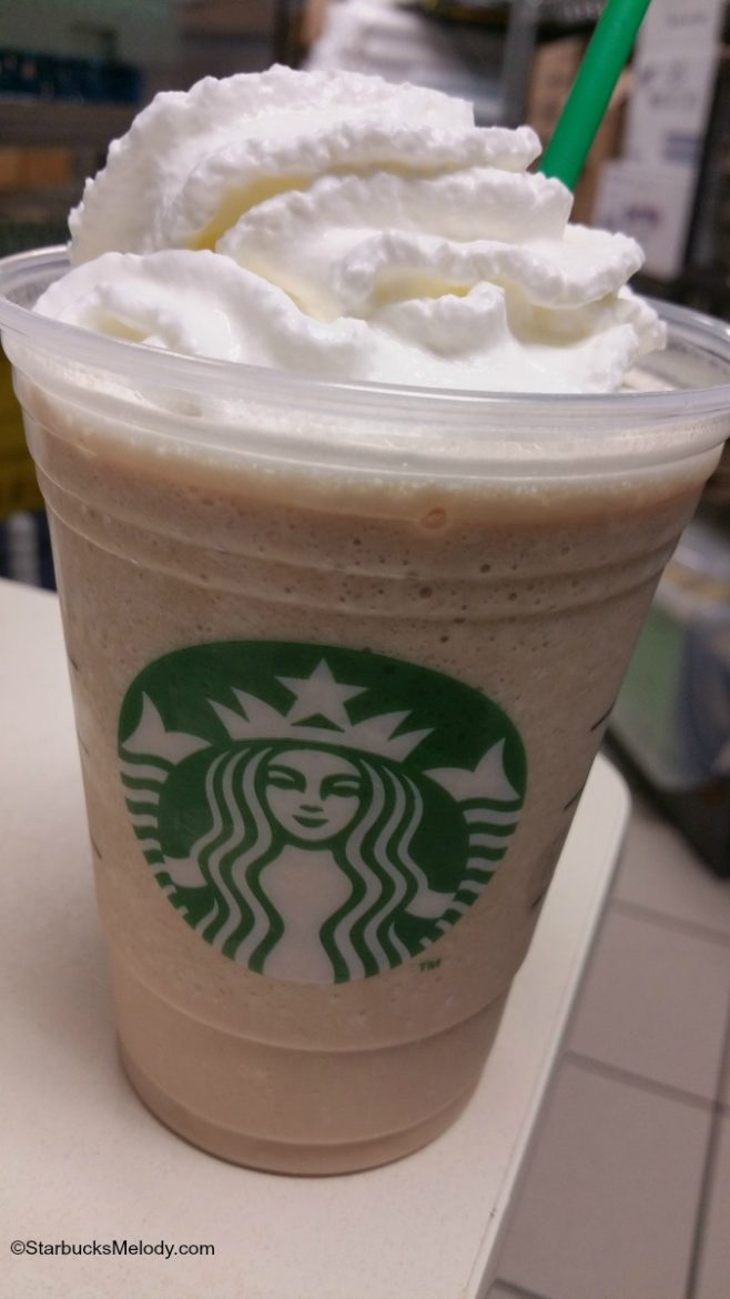 frappuccino of the week  this one tastes like a frosty