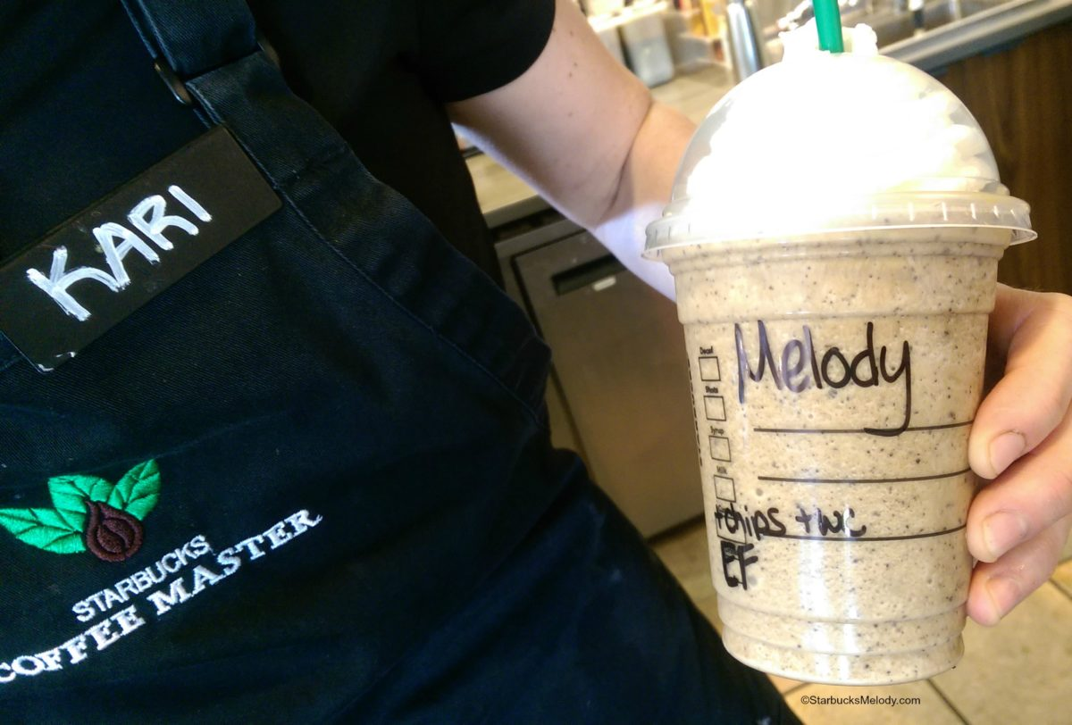 Frappuccino of the Week: The Espresso Frappuccino with Java Chips!