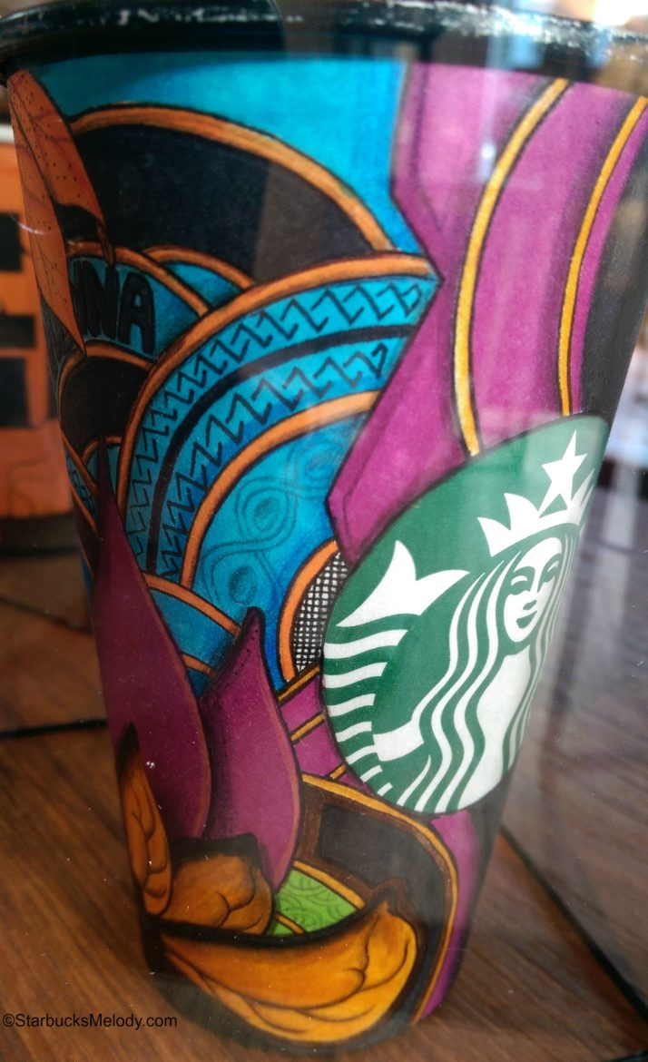 The Cup Art of Starbucks Partner Gabriel Nkweti