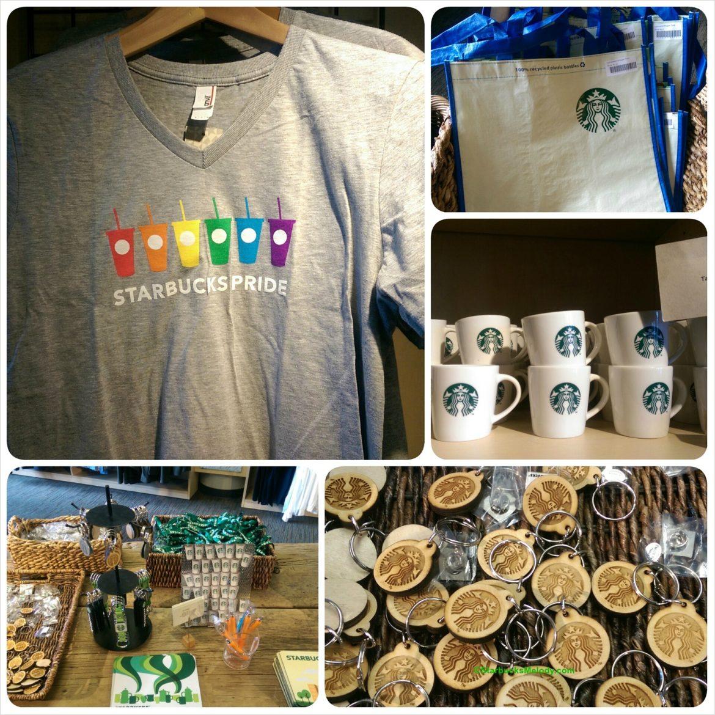 Starbucks Coffee Gear Store: New Starbucks #Pride Shirts & More Fun Stuff
