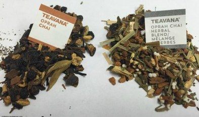 2 - 1 - New Oprah Chai - Teavana - opened up bags