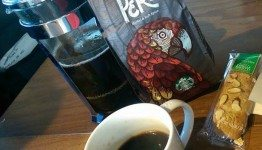 2 - 1 - Peru with G - 4 April 2015 - 1st and Walker Starbucks