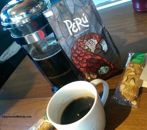 Peru:  A Special Seasonal Starbucks Coffee Offered in Europe & the Middle East.