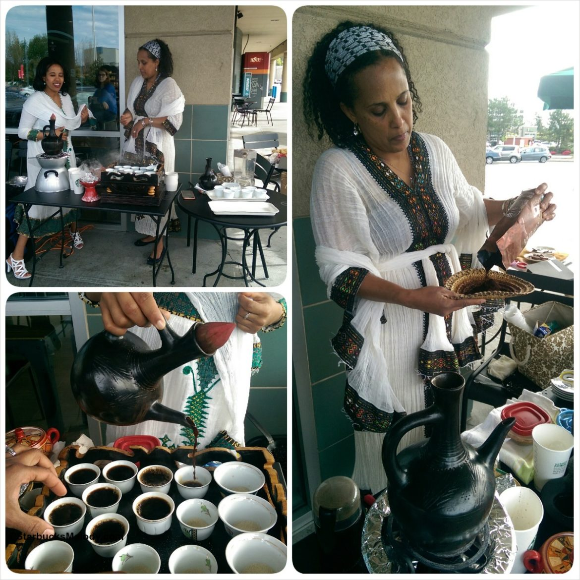 An amazing Ethiopian coffee seminar: Renton Village Starbucks.