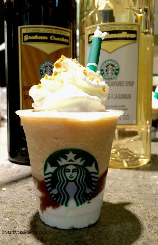 The All New S'mores Frappuccino (When Frappuccinos dream of campfires, marshmallows & graham crackers)