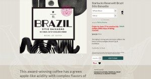 1 - 1 - Brazil Cup of Excellence coffee