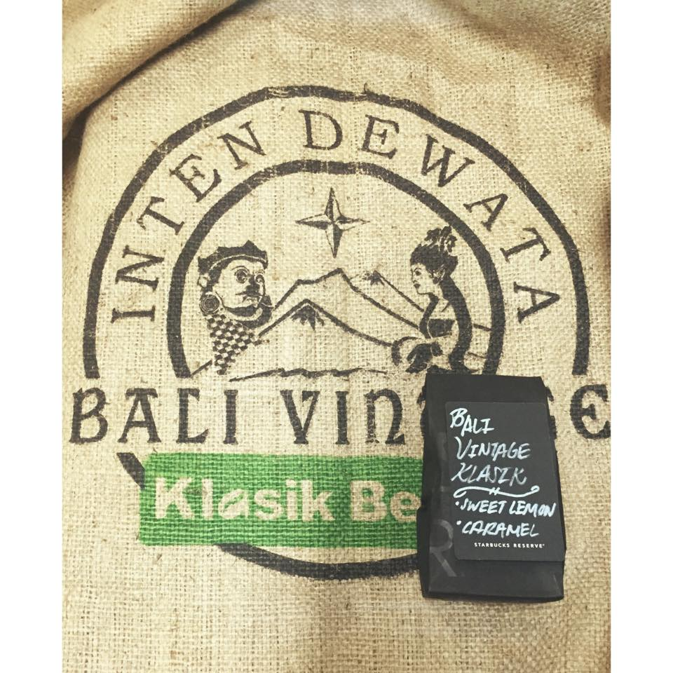 A Special Limited Coffee at the Roastery: Bali Vintage Klasik