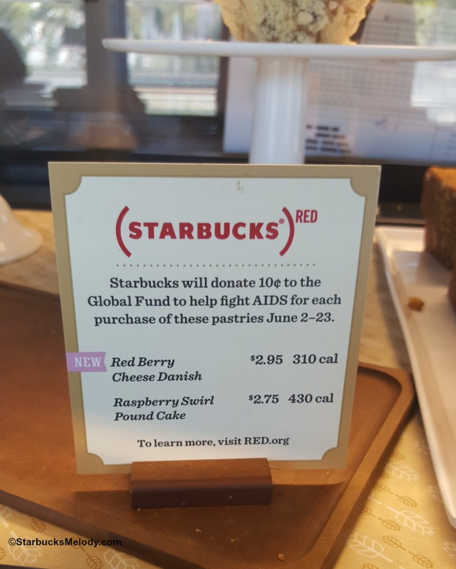 With Your Help: Starbucks Donates to (Red) June 2 – 23rd.
