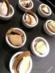 2 -1 - IMAG6957 smores tart cut into samples
