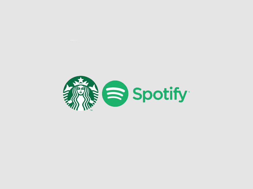 In the news: Starbucks Partners with Spotify.