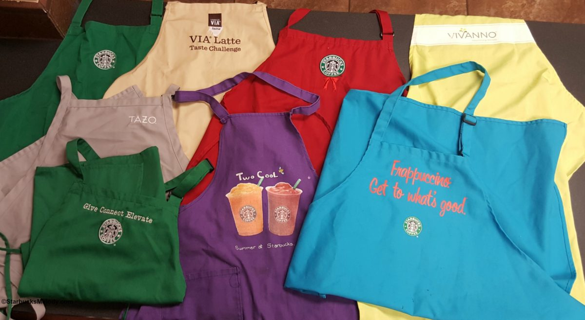 How Many Starbucks Aprons Do You Have?