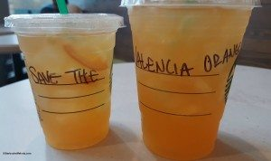 2 - 1 - 20150629_075208 Save the Valencia Orange Starbucks