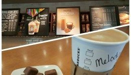 2 - 1 - Hot Starbucks Truffle Mocha - Test Beverage - 6June15