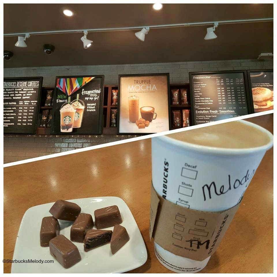 The Starbucks Truffle Mocha: Move Over Mocha Sauce!