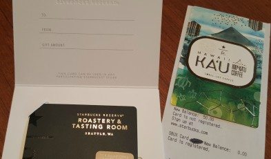 2 - 1 - Starbucks Roastery Card with 50 on it - 20150627_103416
