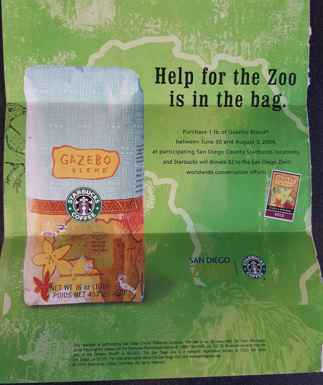 Starbucks Gazebo Blend: #ThrowbackThursday #TBT
