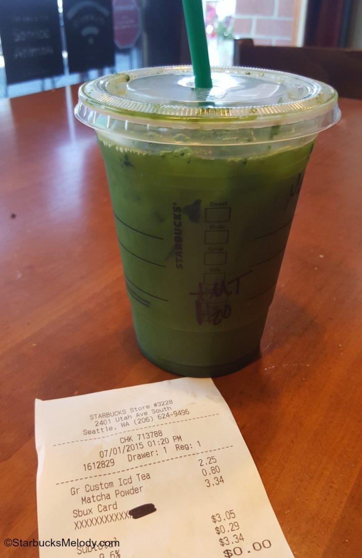 Starbucks Matcha Drink Recipe
