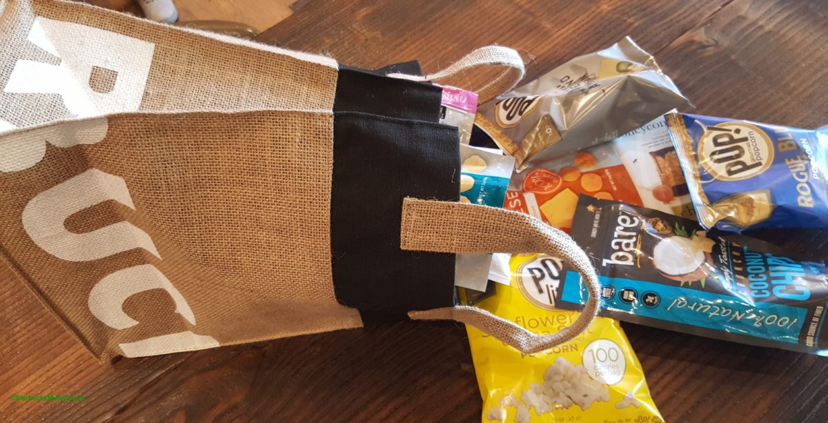 3,400 Snackin' Starbucks: Great sacks and cool burlap Starbucks bag