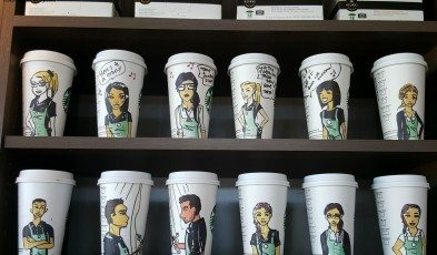 2 - 1 - 20150718 - Cups Brickyard Station Starbucks