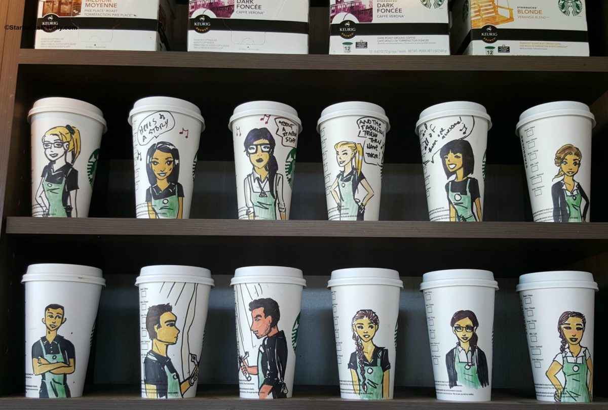 This British Columbia Starbucks Manager Delights Her Partners with Custom Cups.