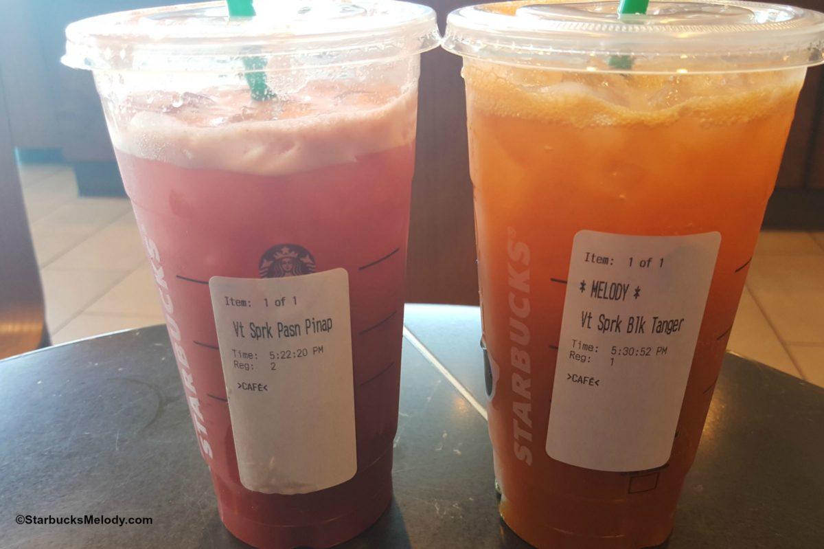 Sparkling Teavana Tea Juices: In Testing