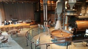 2 - 1 - 20150723_072621 the Starbucks Roastery facing downstairs area 23 July