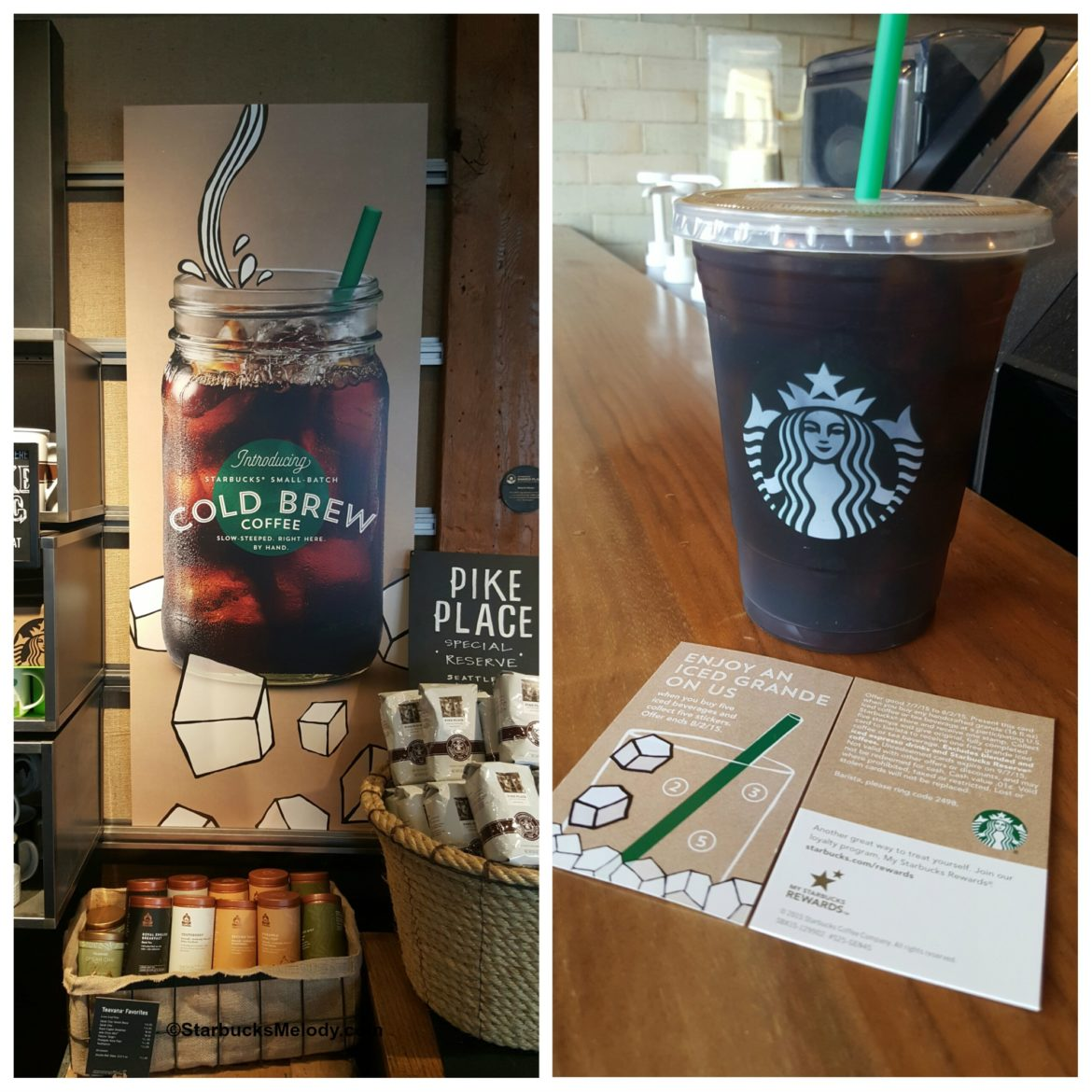 Summer Iced Grande on Starbucks: Buy 5 & collect the stickers and then get one free!