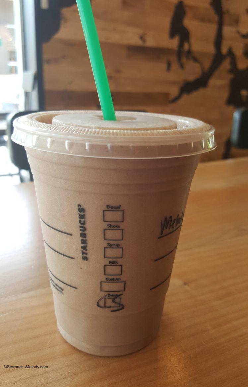Starbucks Iced White Chocolate Mocha - Pumpkin Chocolate Chip Cookies