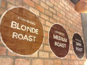 De Tham Starbucks - 3 roast profiles