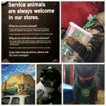 PhotoGrid_1436669909019 Service animals welcome