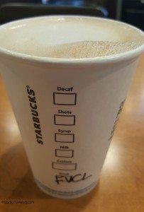 2 - 1 - 20150813_193628 French vanilla custard latte cup Starbucks