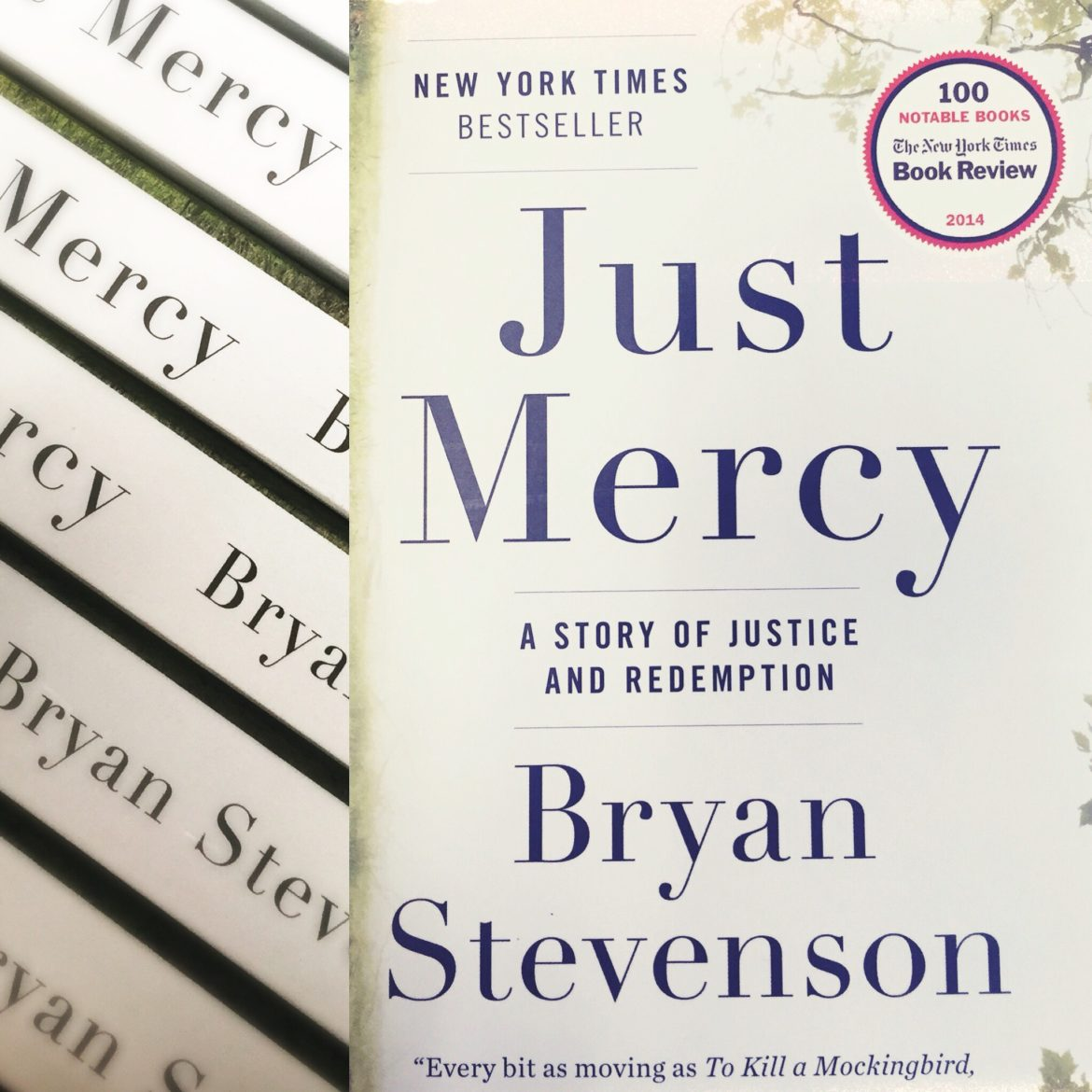 Just Mercy: A great book available now at Starbucks.