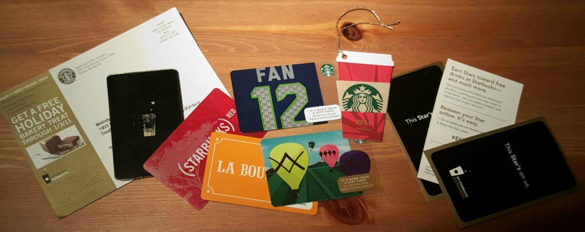 24 Stars for a Reward? Ever-changing Starbucks Rewards program.