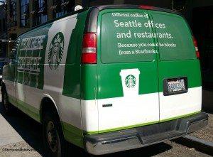 2 - 1 - 20150910_113315 rear of Starbucks delivery van
