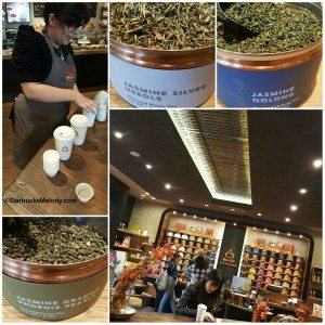 2 - 1 - PhotoGrid_1443059223089 Teavana Tea Tasting University Village Maya
