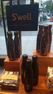 2 - 1- Swell Bottle display at the Roastery