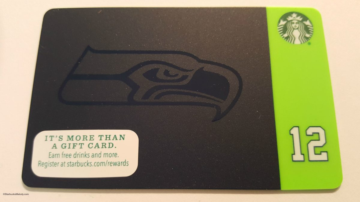 Win this Seahawks Starbucks Card: Create the Best Seahawks Fan Frappuccino