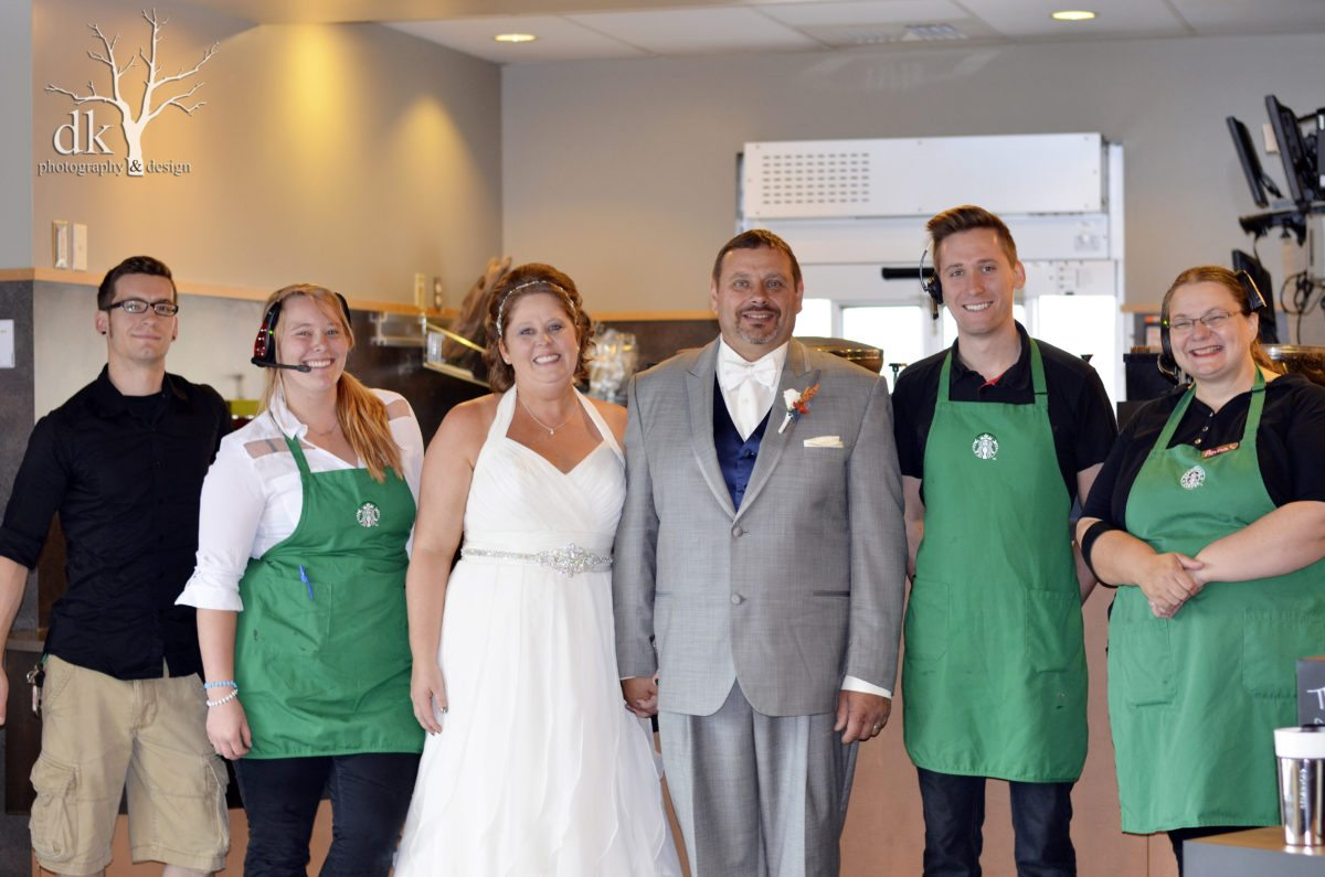 #StarbucksWedding – Wedding Bells in Grand Forks, North Dakota