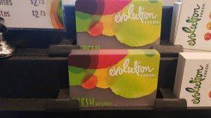 Evolution Fresh Starbucks Card