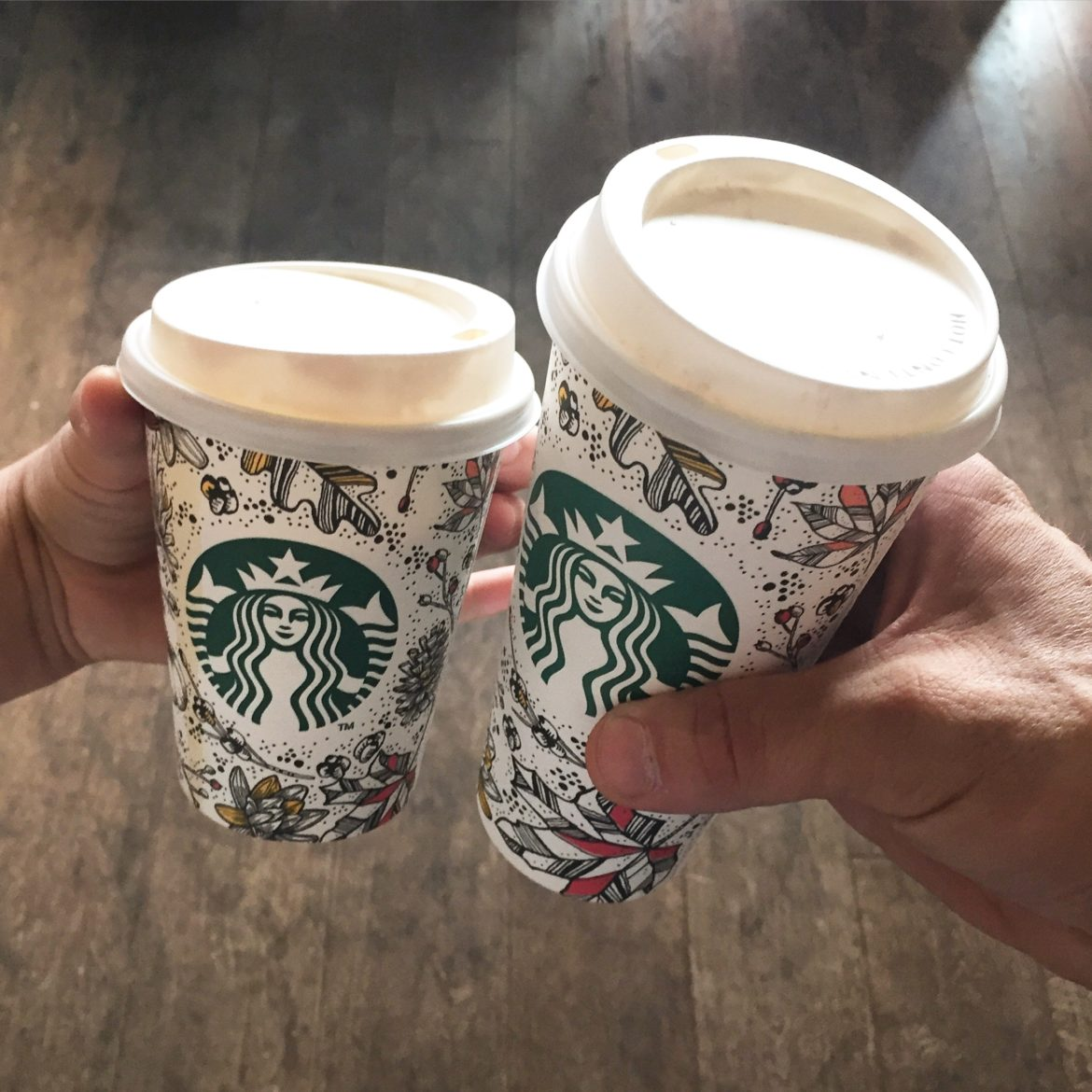 His and Her Pumpkin Spice Lattes: New Fall Cups