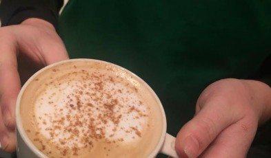 toasted graham latte
