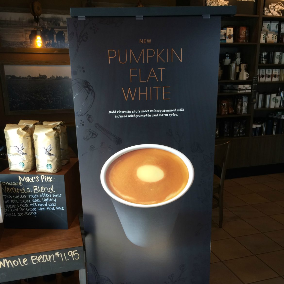 NEWS: All-new Pumpkin Flat White in Testing Now. Move aside ordinary PSL!