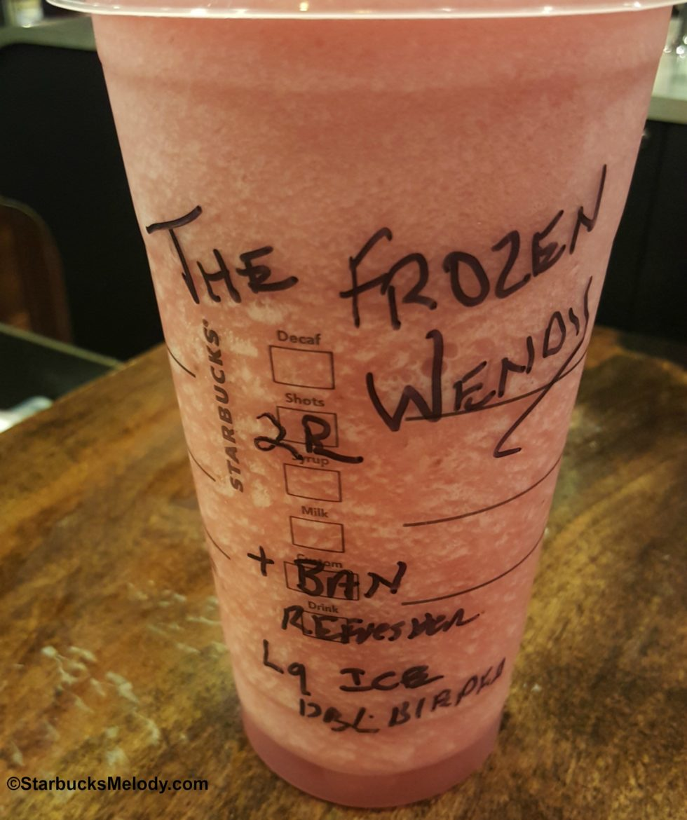 Drink of the Week: The Frozen Wendy