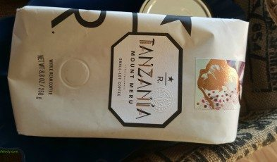 2 - 1 - 20151004_164844[1] package of Tanzania Mount Meru - Roastery Subscription coffee