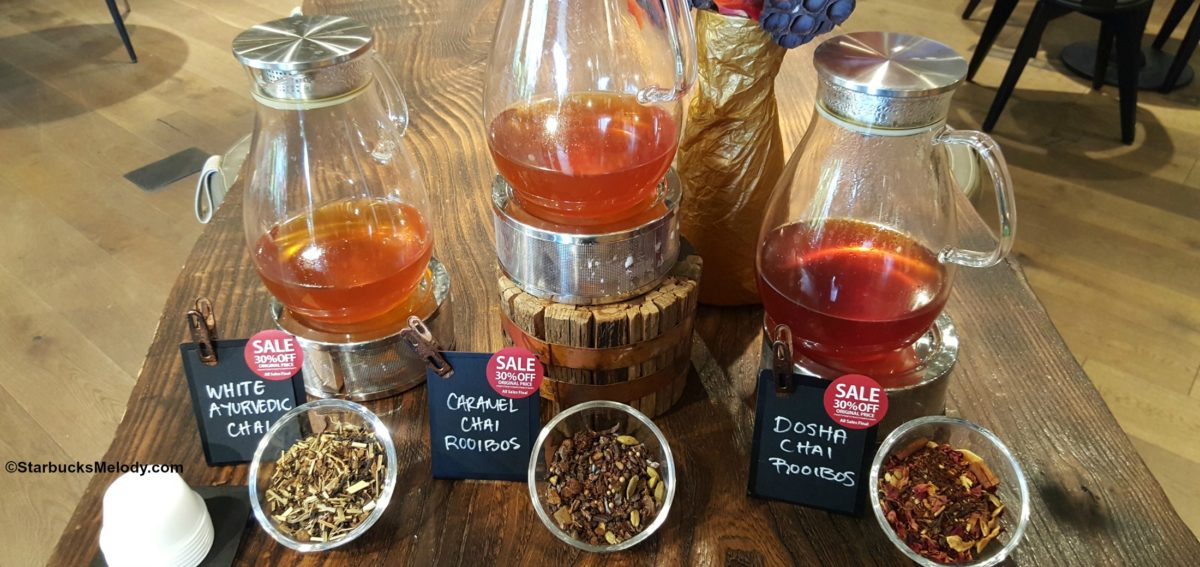 Did you know Teavana has lots of Chai teas?